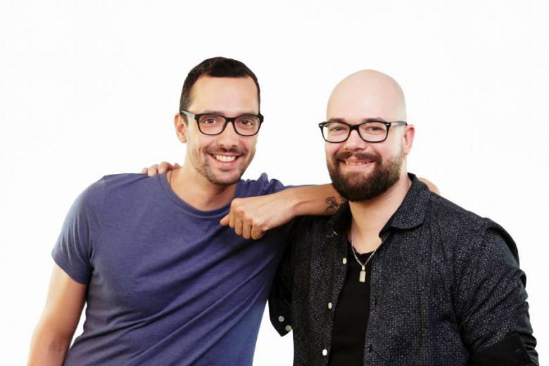 Mic Melanšek, Marketing & Creative Director and Rado Daradan, General Director