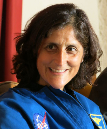 Sunita Williams Tinkara Zupan STA