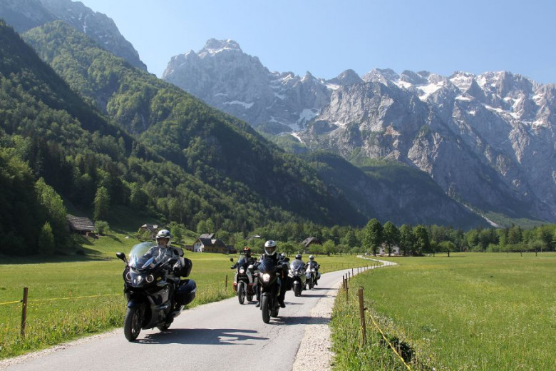 Logar Valley-Discover the beauty of Slovenia on a motorcycle