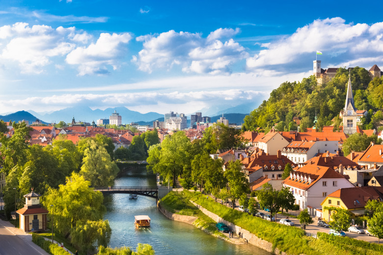 8751327 panorama of ljubljana slovenia europe